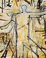 GRAHAM FRANSELLA Standing Figure, 1997 oil on