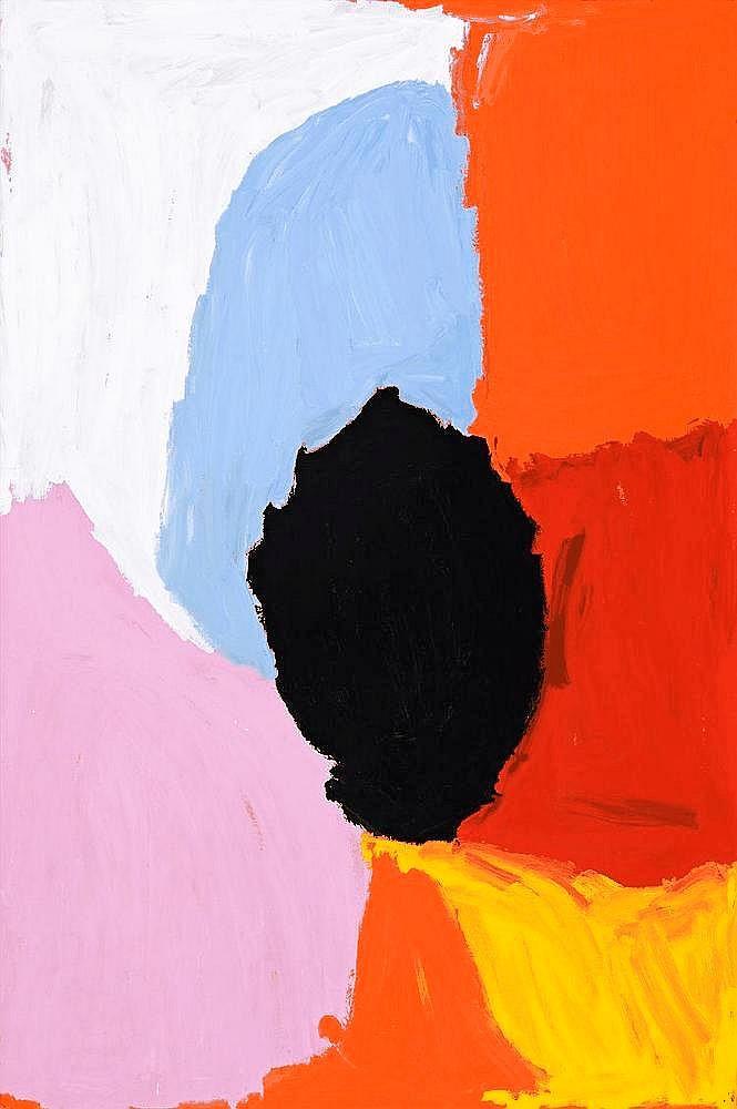 MIRDIDINGKINGATHI JUWARNDA SALLY GABORI, born c1924, MY FATHER'S COUNTRY, 2007, synthetic polymer paint on linen