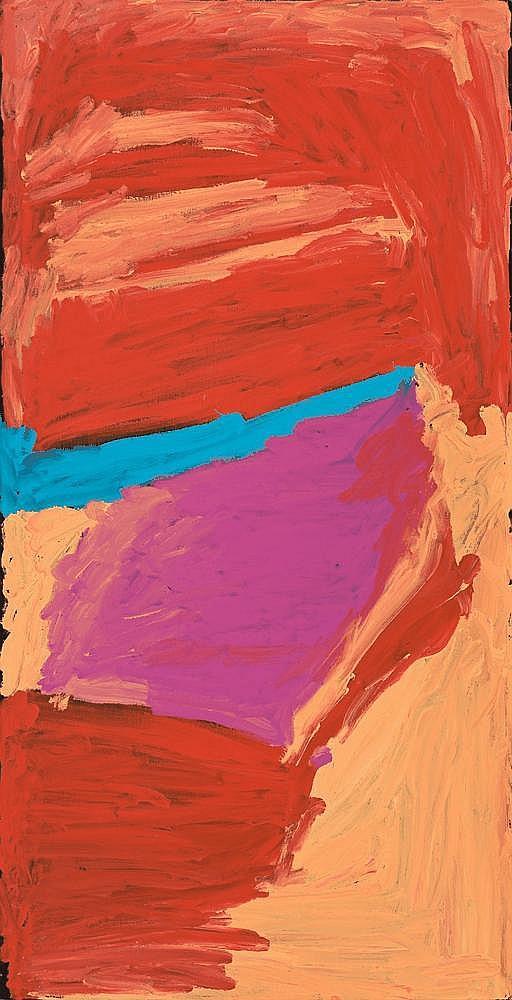 MIRDIDINGKINGATHI JUWARNDA SALLY GABORI, born c1924, DIBIRDIBI COUNTRY, 2005, synthetic polymer paint on canvas