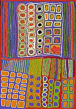 WEAVER JACK, (c.1928 – 2010), LUNGARUNG, 2007, synthetic polymer paint on linen
