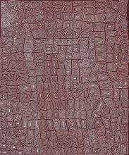 JOHN JOHN BENNETT TJAPANGATI, (c.1930 – 2002), UNTITLED (TRAVELS OF THE TINGARI), 2002, synthetic polymer paint on linen