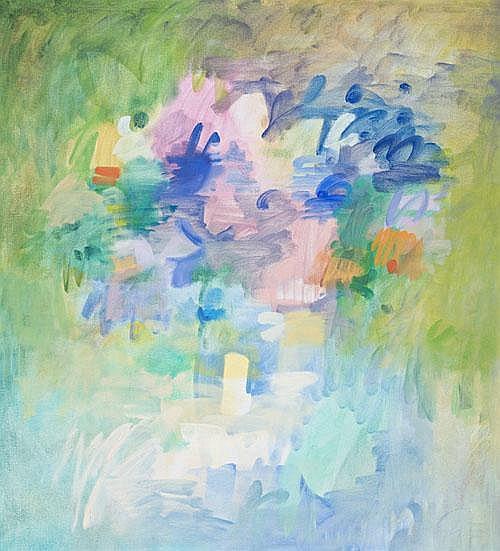 SAM FULLBROOK Flowerpiece I, 1973 oil on canvas