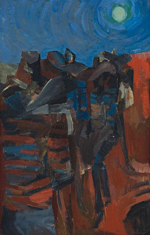 JON MOLVIG Ballad of Native Stockmen No. 2, 1958