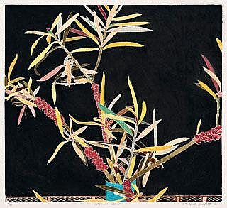 CRESSIDA CAMPBELL Nuts And Leaves, 1988