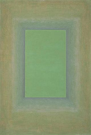 HOWARD TAYLOR Green Figure, 1987 oil on canvas on