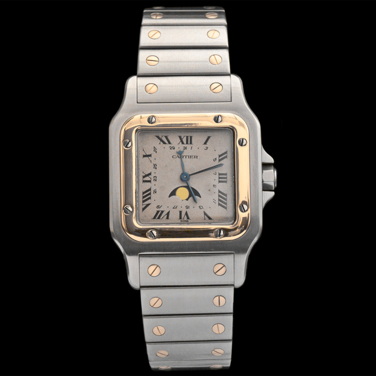 Men's Cartier Two-Tone Quartz Watch