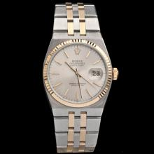 Men's Rolex Two-Tone 18K OysterQuartz Datejust Watch