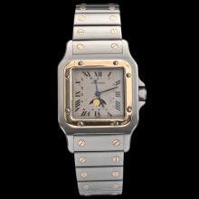Men's Cartier Two-Tone Quartz Watch