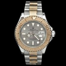 Men's Rolex Two-Tone Yachtmaster Watch