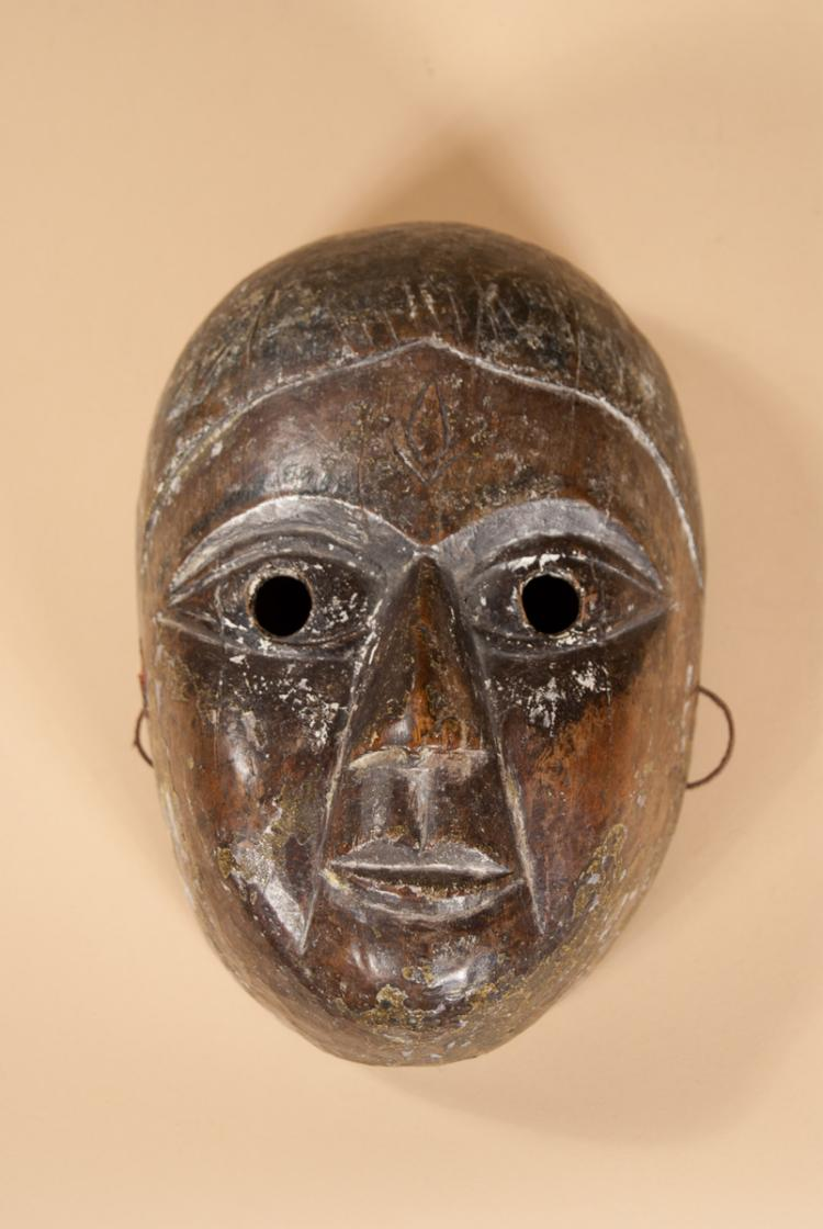 Nepalese Mask used for Theatre and Ceremonial Occasions