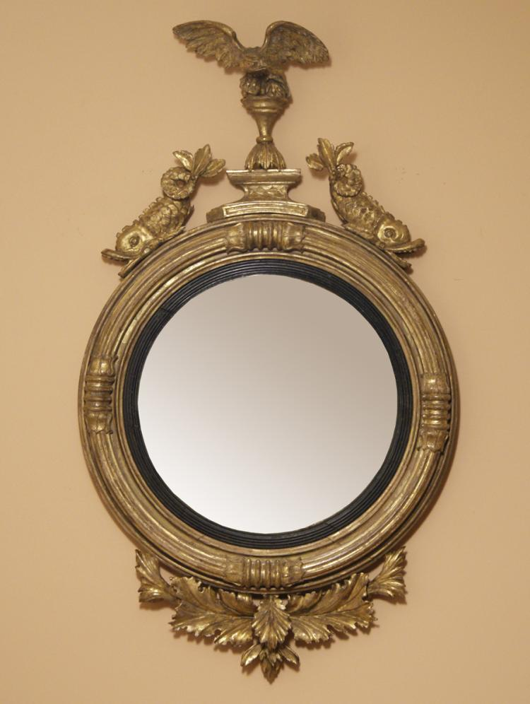 A Regency Period Convex Mirror