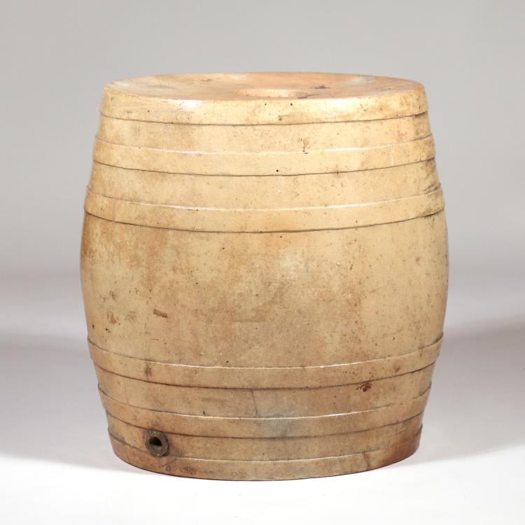 Stoneware Spirit Barrel