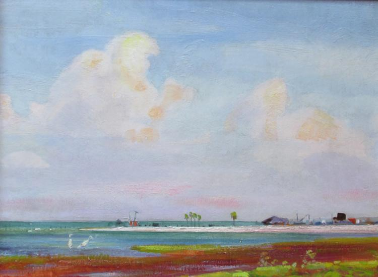 Olin Travis (Am. 1888-1975) oil painting titled