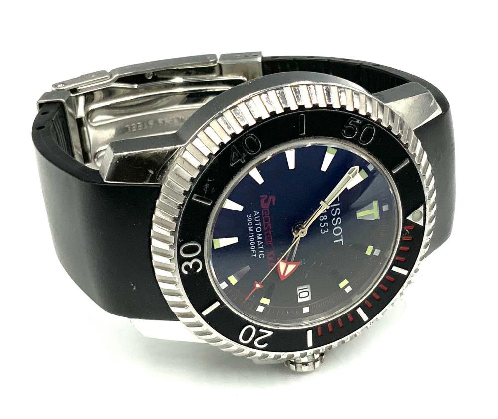 Tissot Seastar 1000 Automatic Diver's Watch.