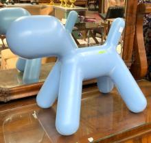 "Eero Aarnio Polyethylene Sculpture, ""Puppy""."