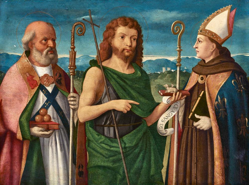 BELLINI, GIOVANNI, Schule - School: Ecce Agnus Dei.