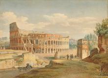JUILLERAT, JACQUES-HENRI: Das Kolosseum in Rom.
