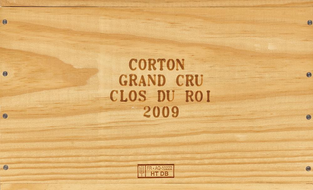 LOUIS JADOT: Corton, Clos du Roi, Grand Cru, 2009.