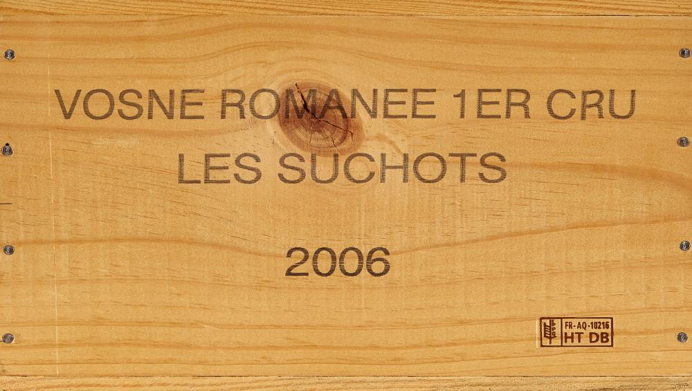 LOUIS JADOT: Vosne-Romanée, Les Suchots, Premier Cru, 2006.