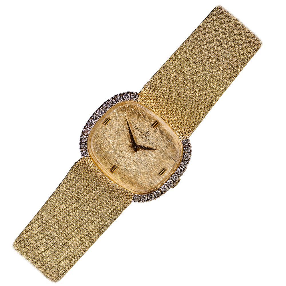 BAUME & MERCIER: Vintage-Damenarmbanduhr.