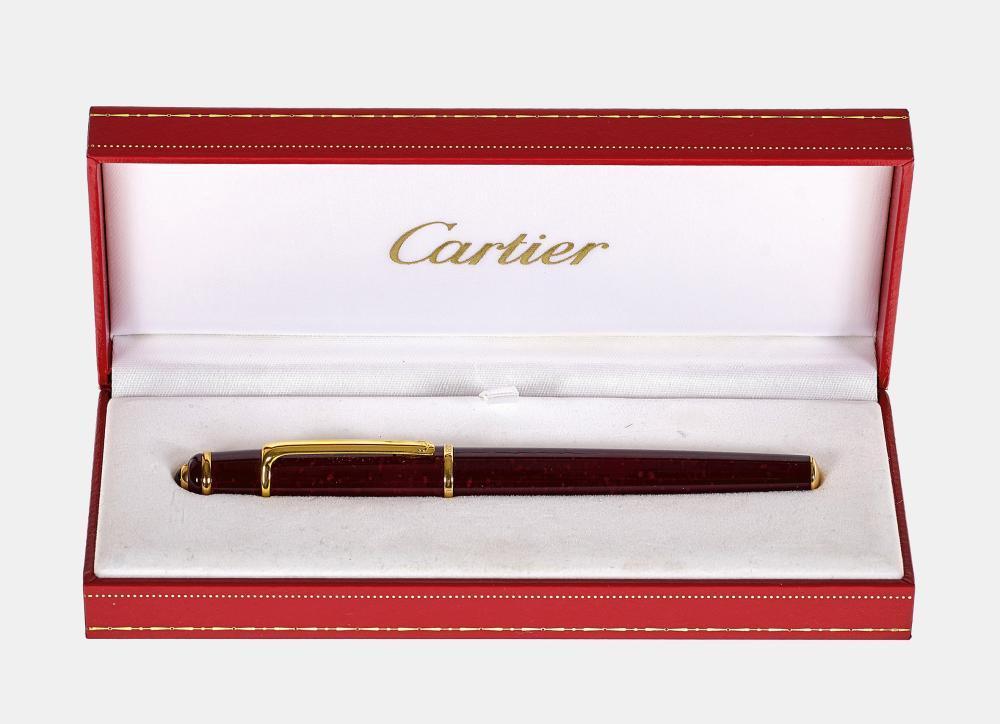 FÜLLFEDERHALTER: Frankreich, 20. Jh. (Cartier).