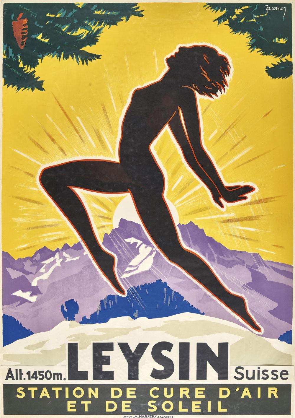 "MÜLLER, JACOMO: ""Leysin Suisse""."