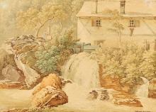 JUILLERAT, JACQUES HENRI: Mühle am Fluss.