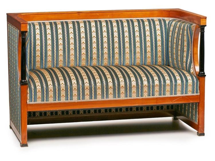 Sofa, Biedermeier-Stil, um 1900