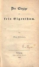 Max Stirner [d.i. Johann Caspar Schmidt]