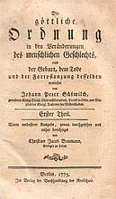 Johann Peter Süßmilch. Die göttliche Ordnung