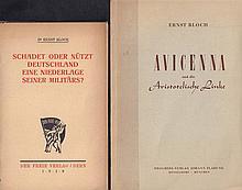 Ernst Bloch - 2 Bände