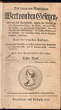 Charles-Louis de Secondat de Montesquieu