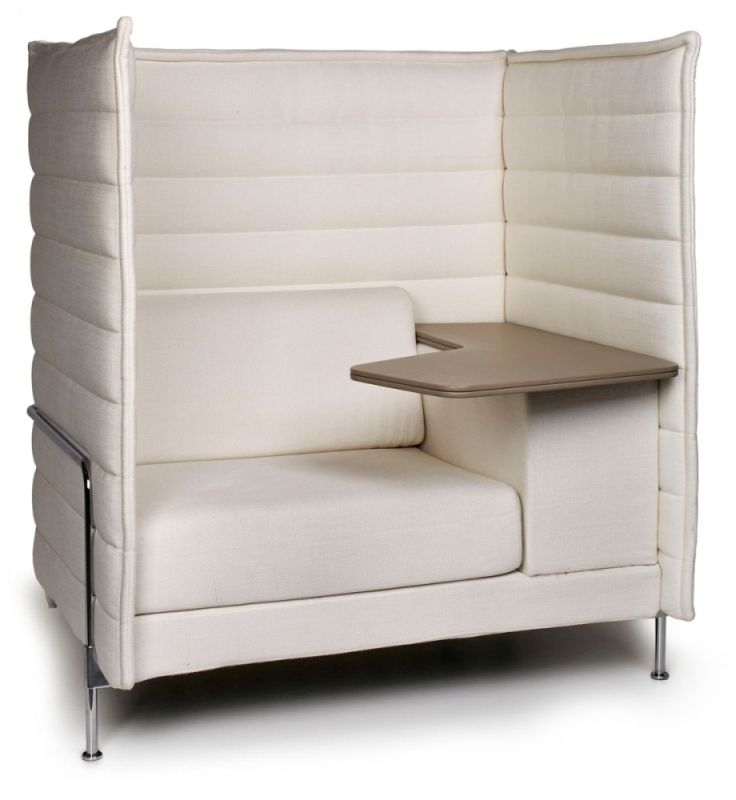 alcove highback sofa mit arbeitstisch. Black Bedroom Furniture Sets. Home Design Ideas