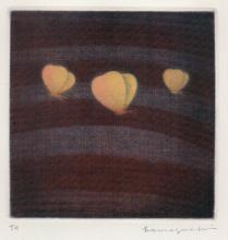 Yozo Hamaguchi (1909–2000): Three Butterflies (1985)