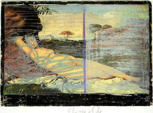 Strawalde (d.i. Jürgen Böttcher) (*1931): Schlummernde Venus
