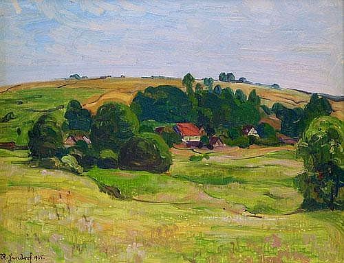 Richard Hendorf (1861-1939): Bieber im Spessart