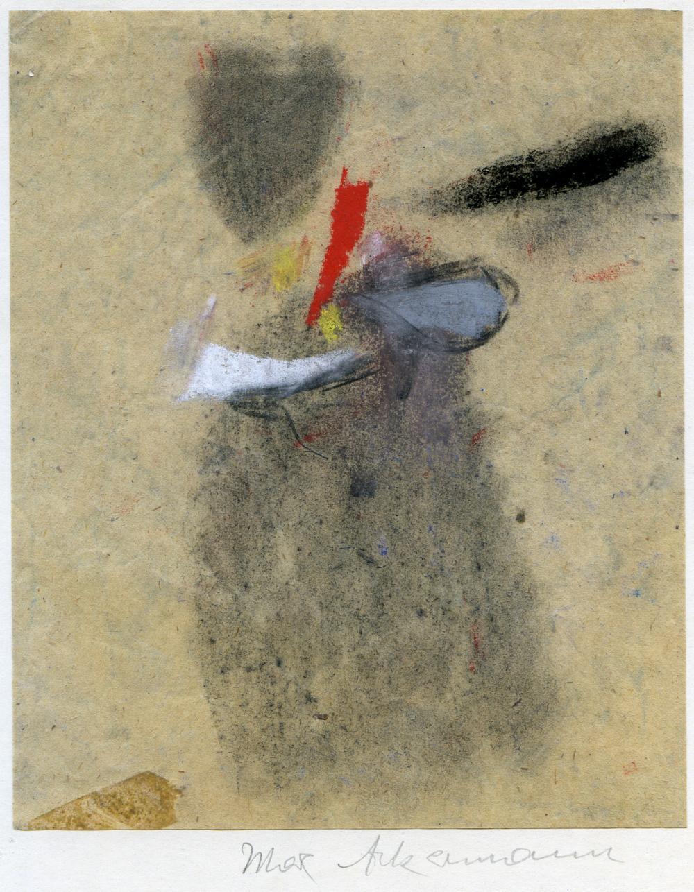 Max Ackermann (1887–1975): Rote Zentrale (1950)