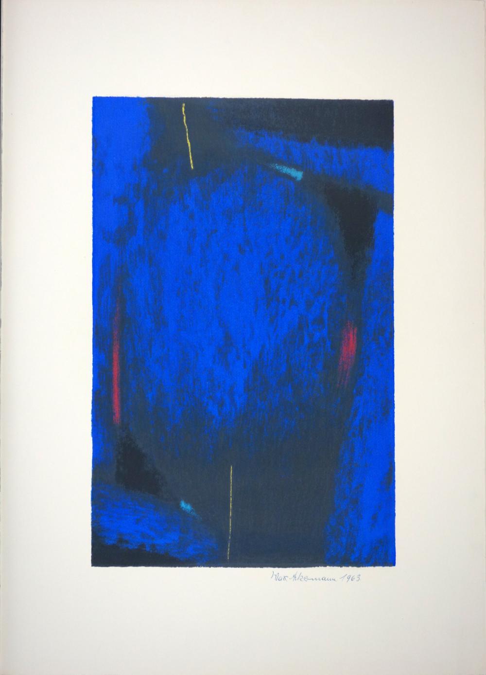 Max Ackermann (1887–1975): Sphärische Klänge (1963)