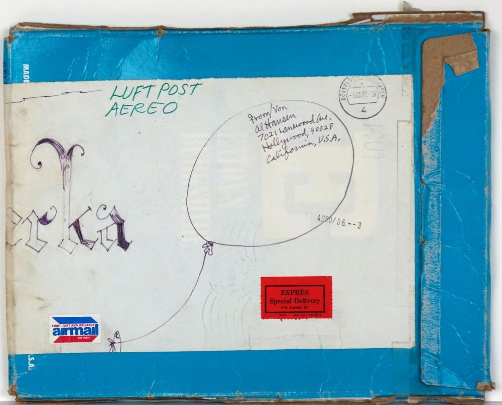 Al Hansen (1927–1995): Ohne Titel (1977)