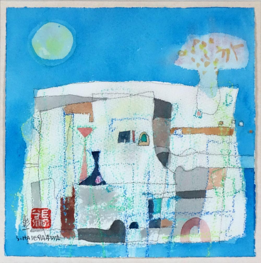 Shoichi Hasegawa (*1929): Paysage du midi (1998)
