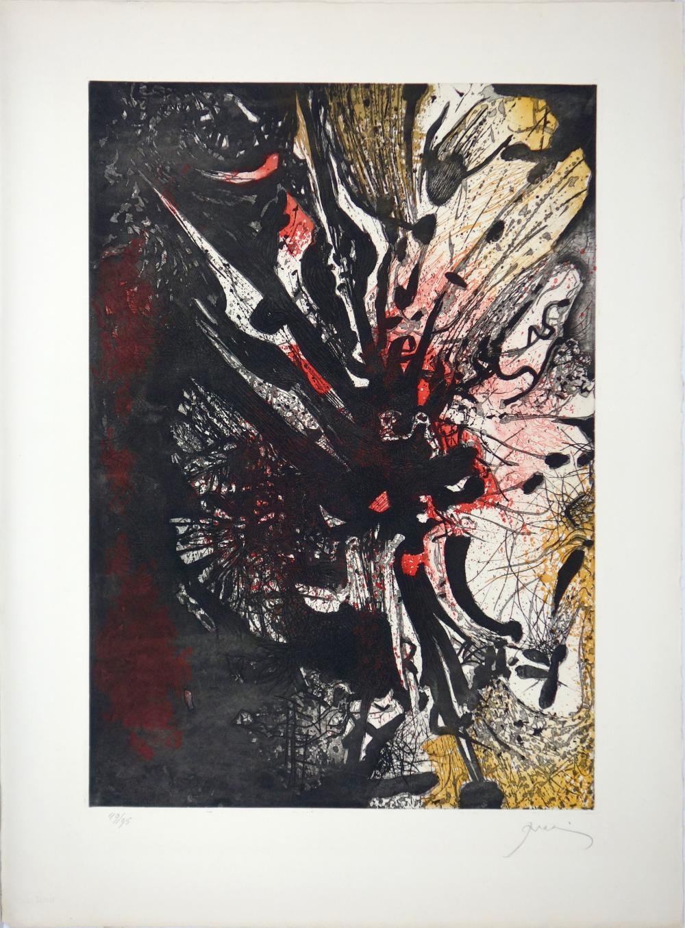 Mario Prassinos (1916–1985): Ohne Titel (1962)