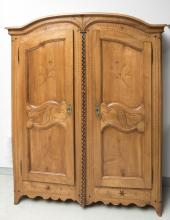 Armoire fribourgeoise de mariage.