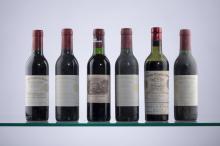 4 Château Cheval Blanc & 1 Château Lafite Rothschild 1989 & 1 Château Cheval Blanc 1949.