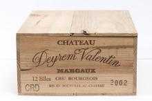 12, Château DEYREM VALENTIN, cru bourgeois,Margaux AOC, 2002.