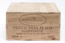 12, Château PAVEIL-DE-LUZE, bourgeois sup,Margaux AOC, 2002.