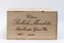 12, Château BELLISLE-MONDOTTE, grand cru, St-Emilion AOC, 1999.