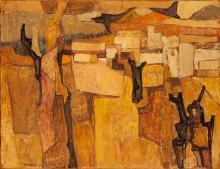 """Charles Monnier (1925-1993) """"Lumières blondes"""""""