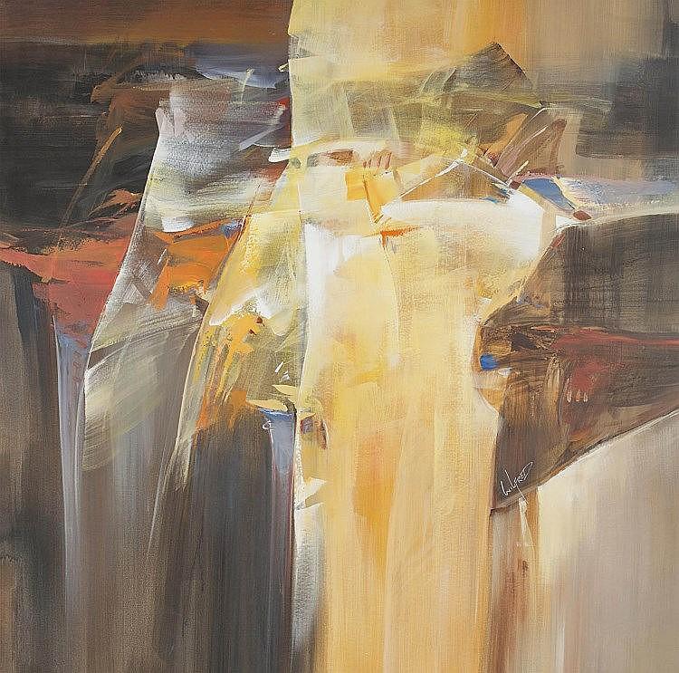 Wilfred Lang Abstract Art