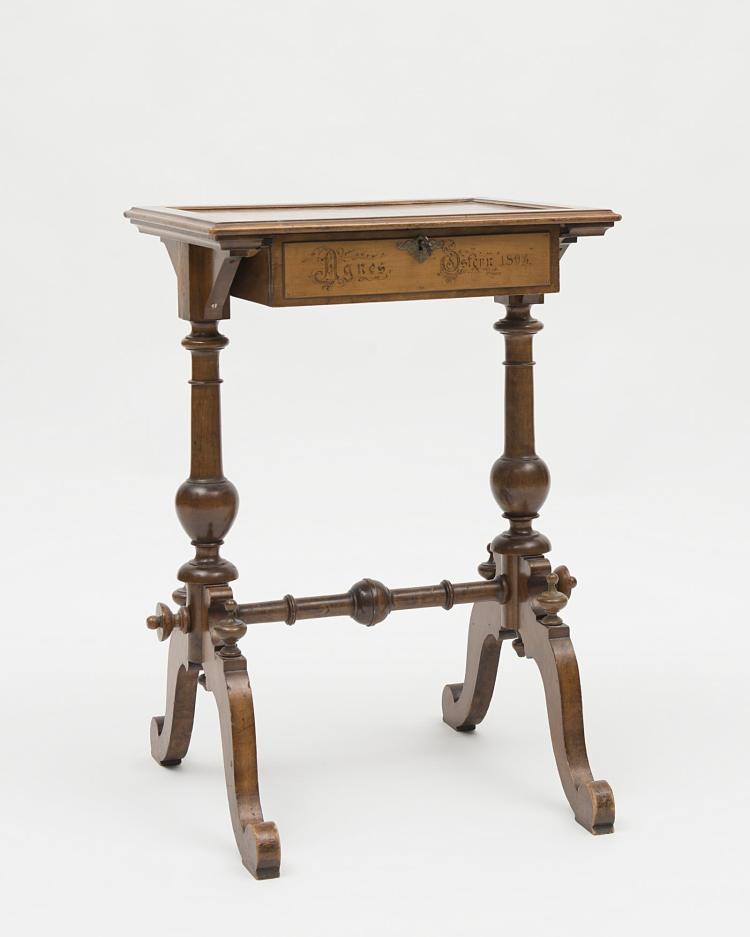 petite table travailleuse plateau d cor grav de branchag