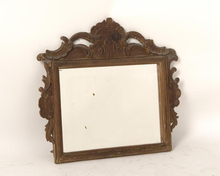 Petit miroir baroque rectangulaire horizontal for Miroir rectangulaire baroque